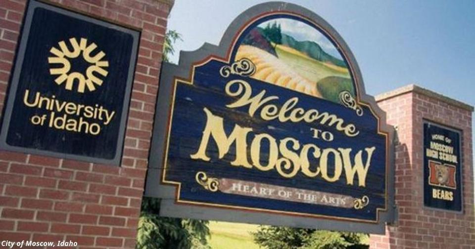 Почему в США так много городов под названием Moscow