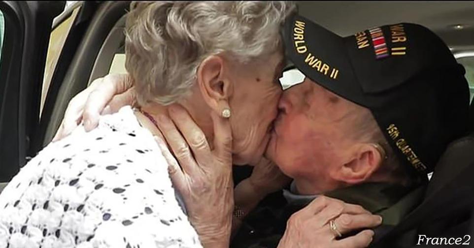 97 летний ветеран воссоединился со своей возлюбленной спустя 75 лет