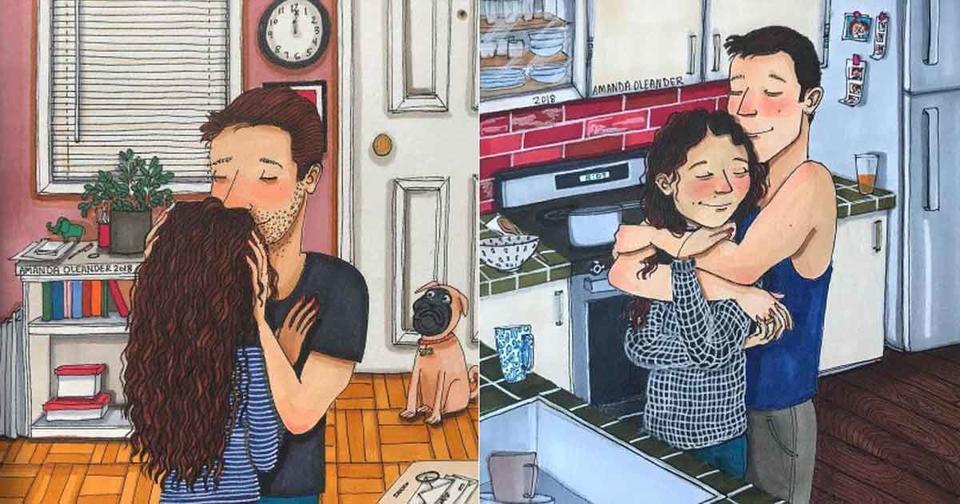 20 добрых иллюстраций о том, что происходит в семье за закрытыми дверями
