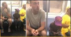 Парень в метро дал свой телефон чужому ребенку. И растрогал миллионы людей