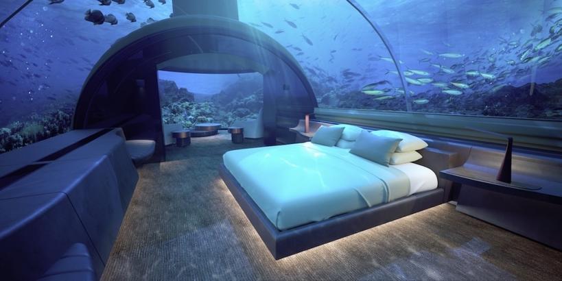 9 подводных гостиничных номеров с самыми захватывающими видами на океан