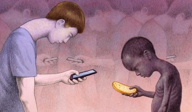 35 глубоких иллюстраций, которые раскрывают суровую реальность современности