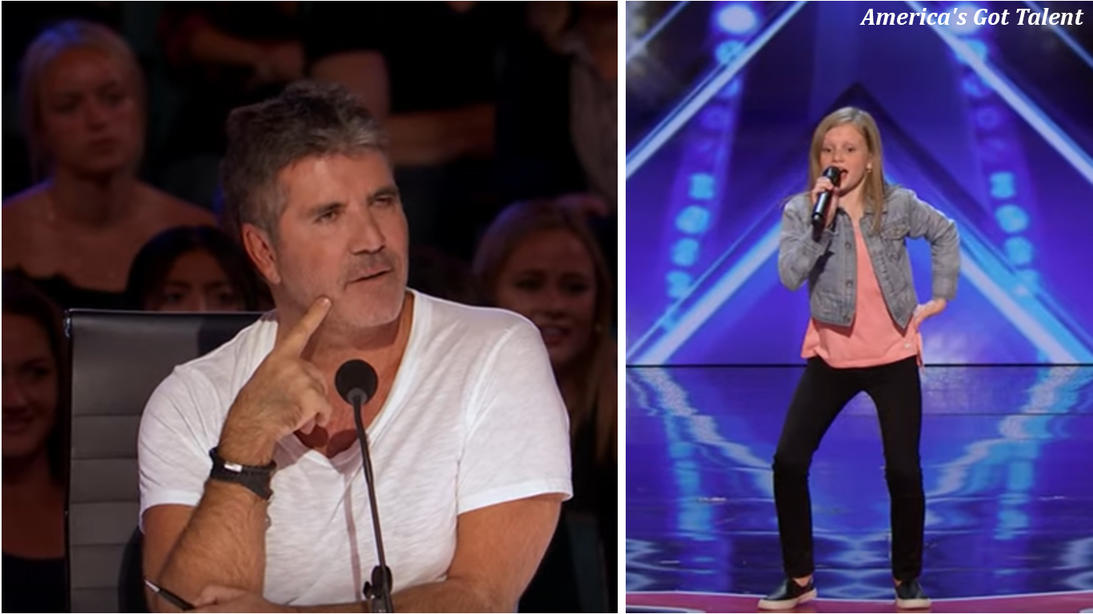 На шоу талантов ее попросили спеть без музыки. Девочка не растерялась