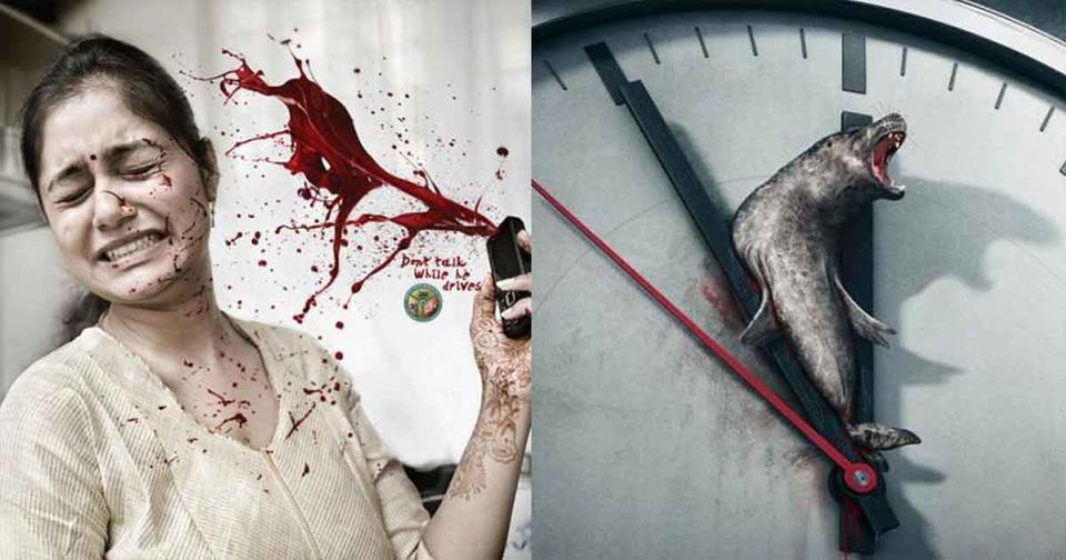 22 раза, когда социальная реклама получилась даже слишком эффектной