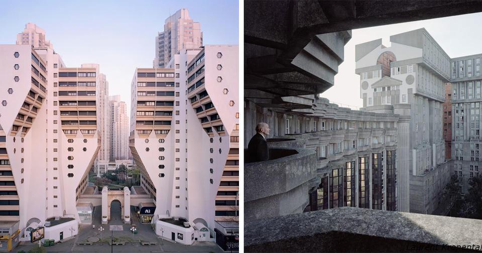 12 фото заброшенных монументальных жилых комплексов в Париже