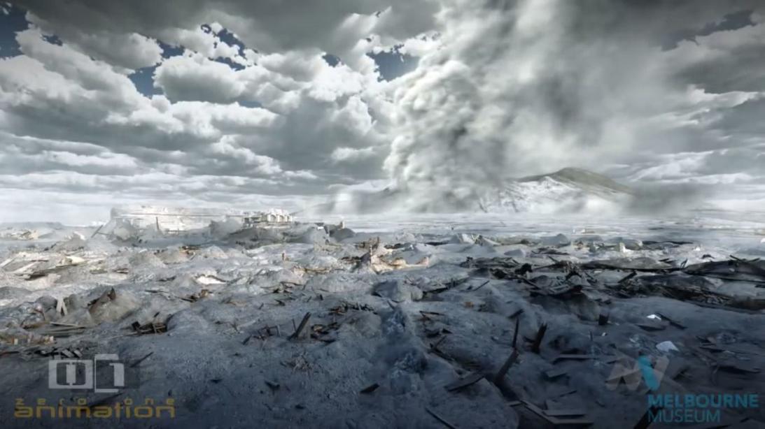 Вот видео о том, как на самом деле выглядел последний день Помпеи