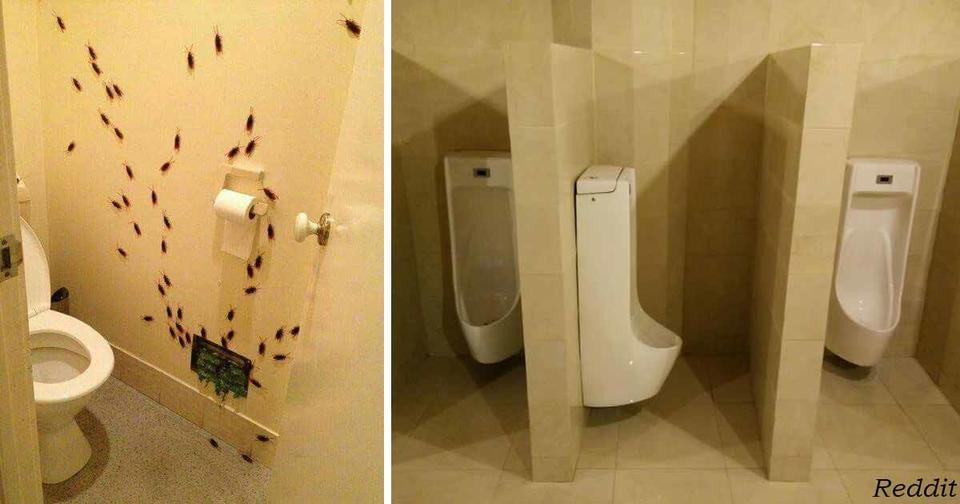 Самые ужасные и смелые идеи ванной комнаты, до которых кто то додумался