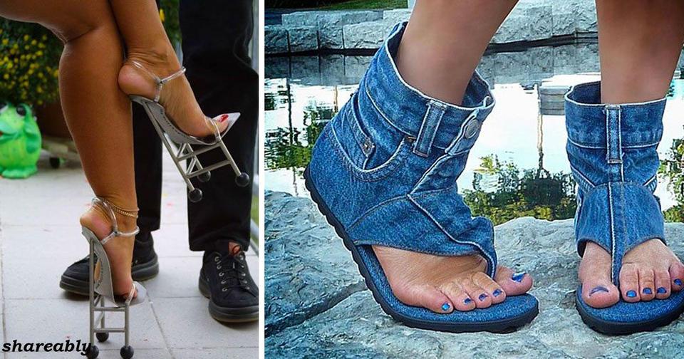 25 раз, когда дизайнер обуви все таки перестарался