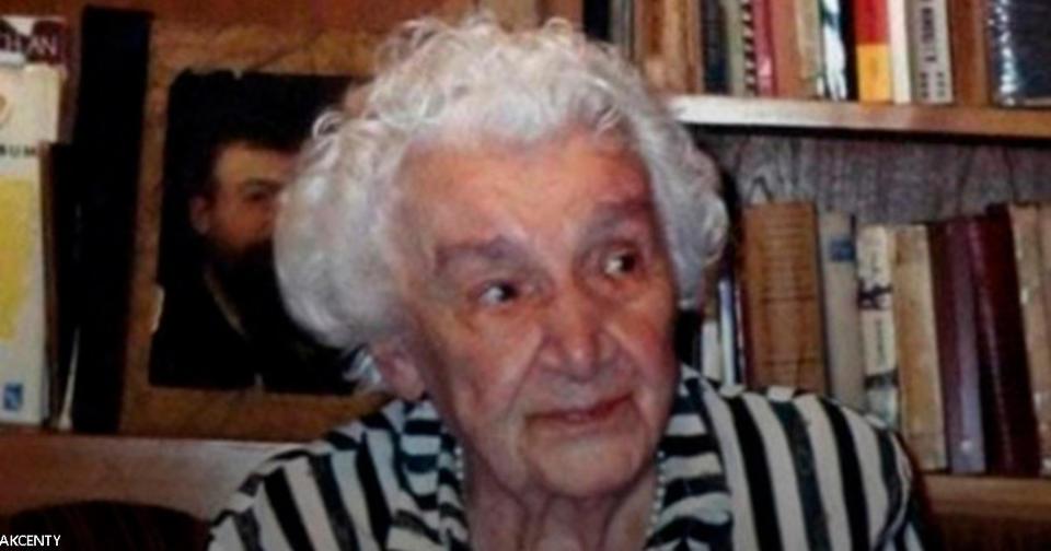 Не стало 82 летней женщины, которая родила ребенка в 5 лет!