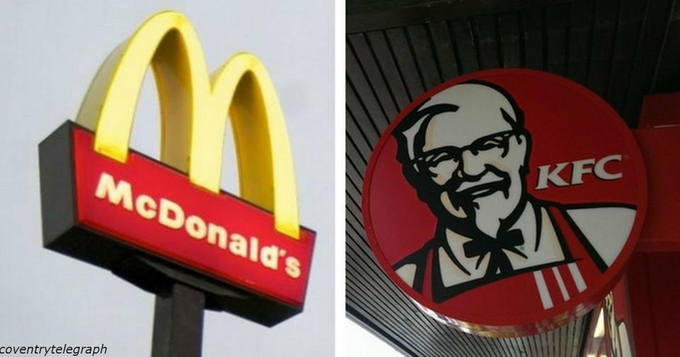 Вот почему все сети быстрого питания имеют в логотипе красный и желтый цвета