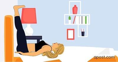 6 поз йоги для спокойного и очень сладкого сна