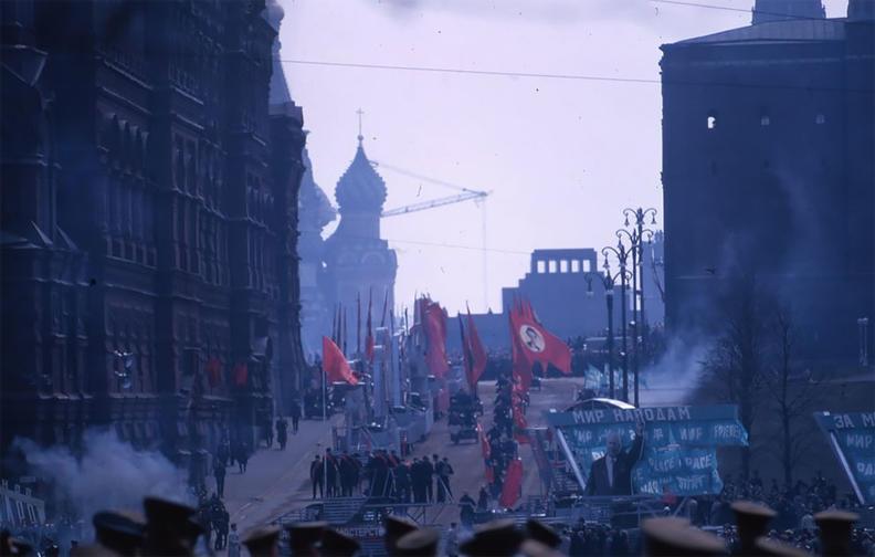 Атмосферные фото СССР, сделанные американским профессором