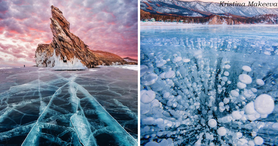 23 великолепных фото замёрзшего Байкала – самое то, что надо в летнюю жару