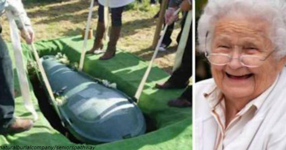 Муж потребовал, чтобы жена похоронила его со всеми деньгами. И вот что та сделала