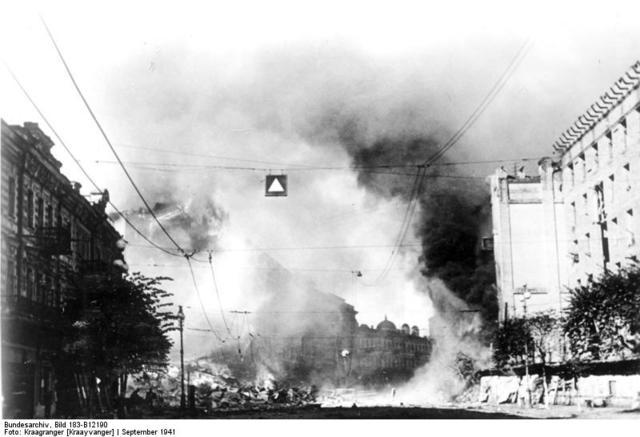 11 июля началась героическая, но очень трагичная оборона Киева