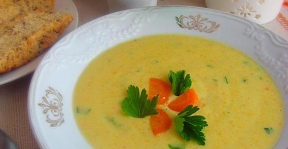 Летний суп-пюре из кабачков: легкий, нежный и нравится детям