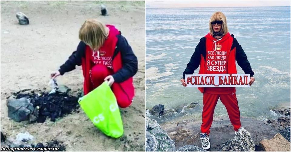 «П...ц полный»: Зверев убрался на берегу Байкала, потому что не выдержал
