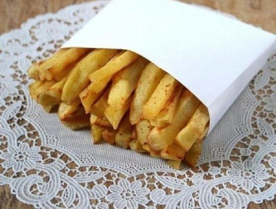 Вот рецепт картошки фри без капли жира, и детям можно хоть через день