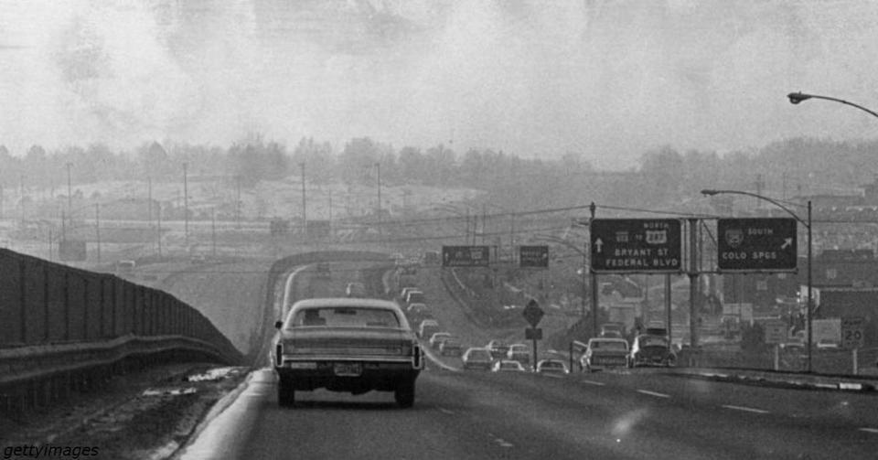 33 фото о том, как выглядели американские города до начала борьбы за экологию