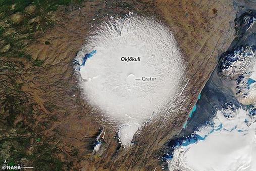 Попрощайтесь с первым ледником, объявленным мертвым в Исландии