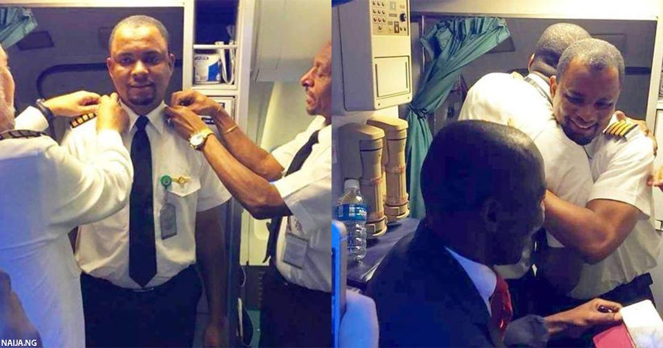 Уборщик в самолете стал капитаном борта после 24 лет службы
