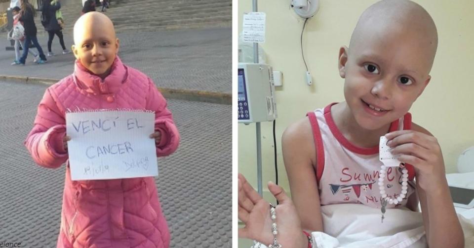 Ей только 8, но она уже пережила 52 химиотерапии - и победила рак