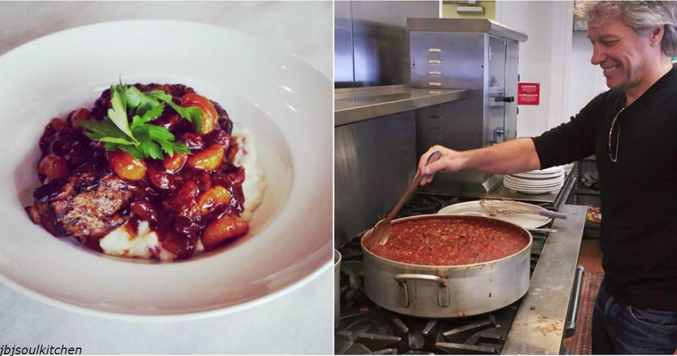 Джон Бон Джови открыл два ресторана - люди без денег могут есть в них бесплатно