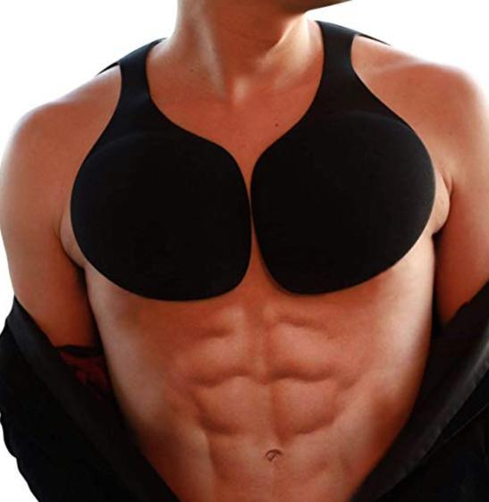 Японцы стали продавать накладки для красивой мужской груди - и они дико популярны