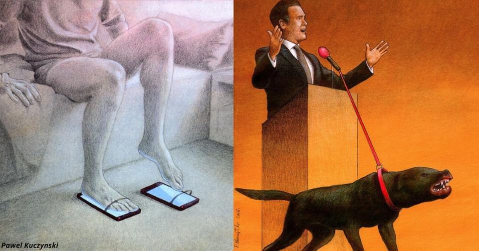 17 рисунков художника, который бросил вызов общественному мнению