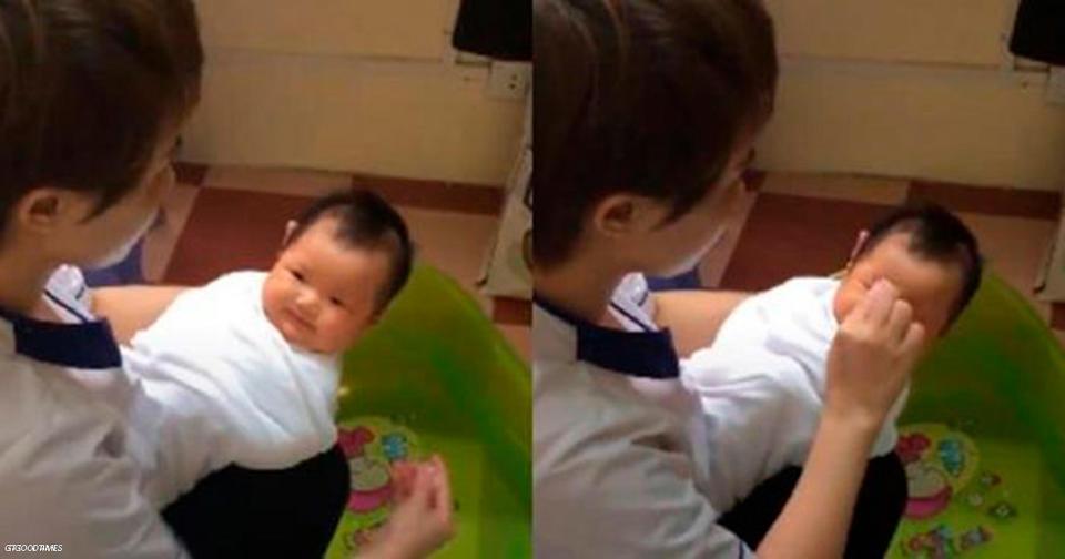Медсестра из Вьетнама рассказала, как правильно купать новорожденного
