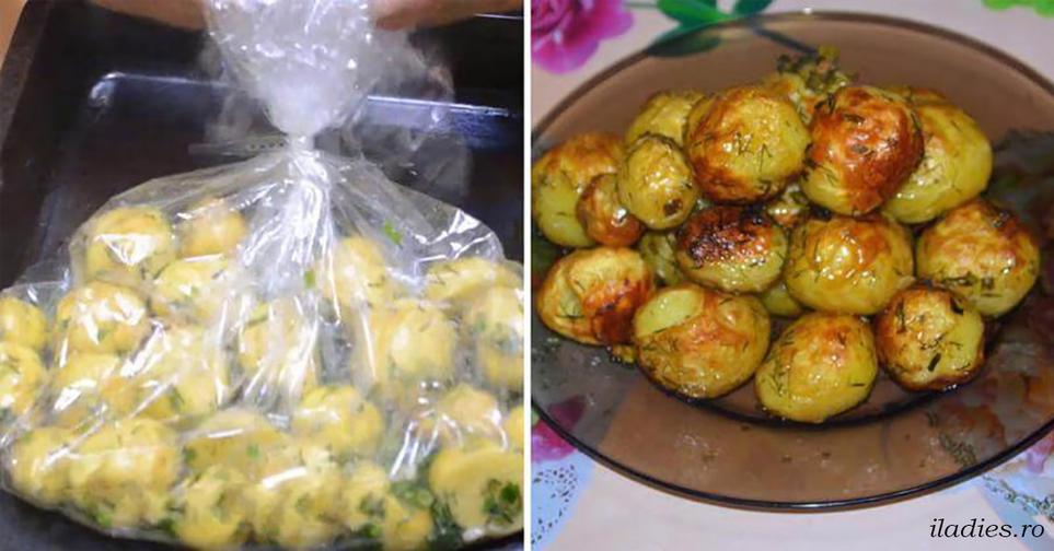 Единственный ″правильный″ рецепт картофеля с чесноком, запеченного в рукаве