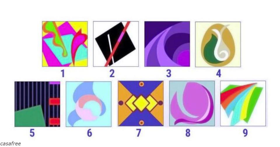 Выберите 1 картинку и   и узнаете свое текущее психическое состояние