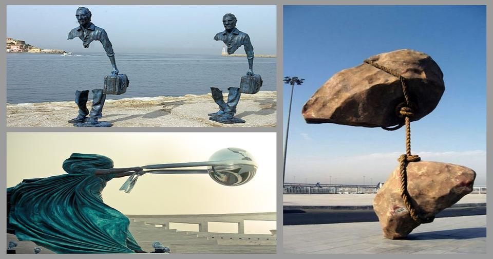 22 изысканно восхитительные скульптуры, которые обманули закон гравитации