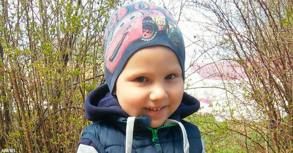 Ушел от нас 6 летний Святослав, спасший дедушку из горящей бани
