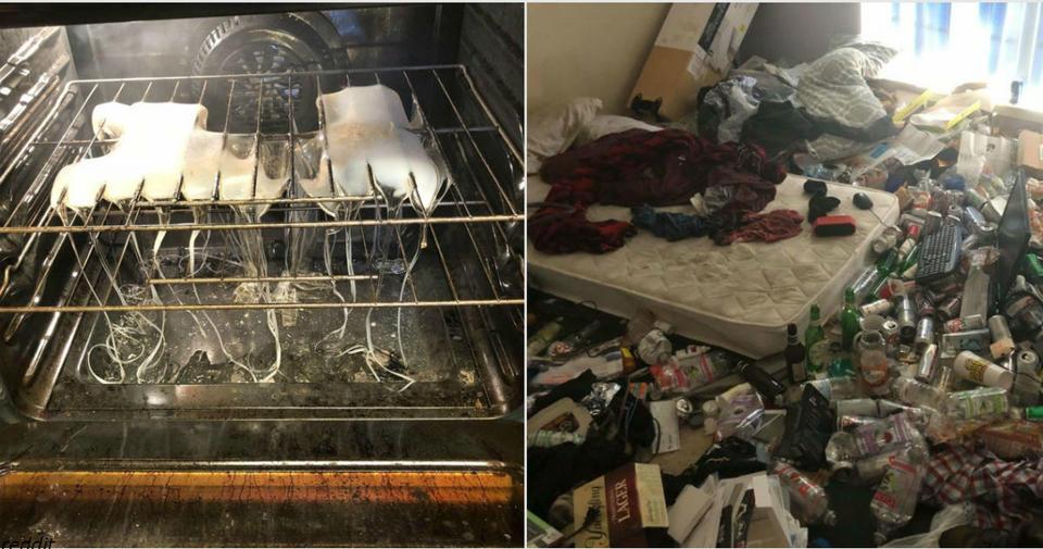22 честных фото о том, каково этого   снимать квартиру на двоих с кем то очень странным