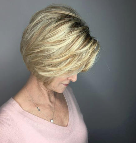 18 идей для короткой стрижки, которая идеально подходит взрослым женщинам