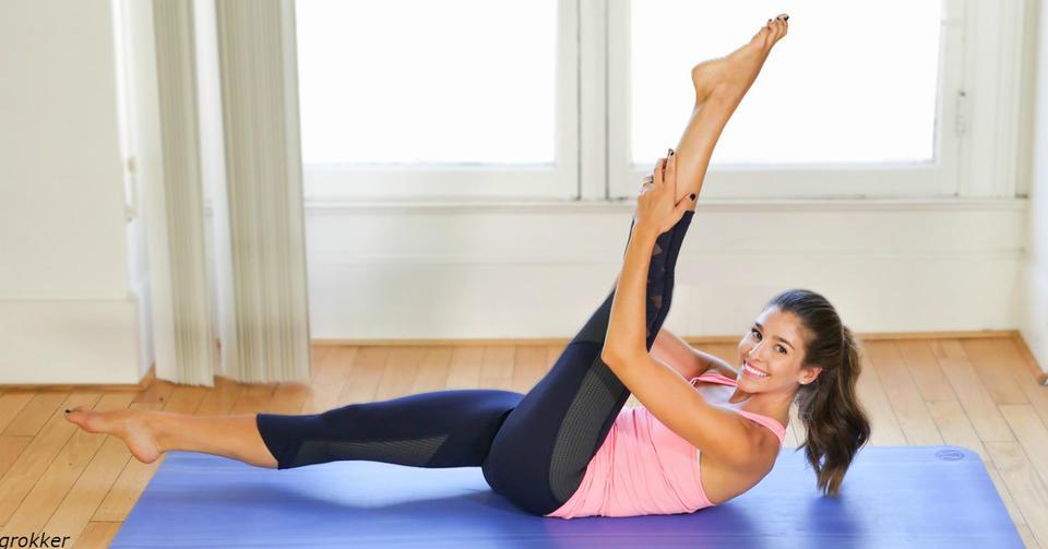 5 упражнений из мира пилатеса, которые снимут боль в спине за 5 минут в день