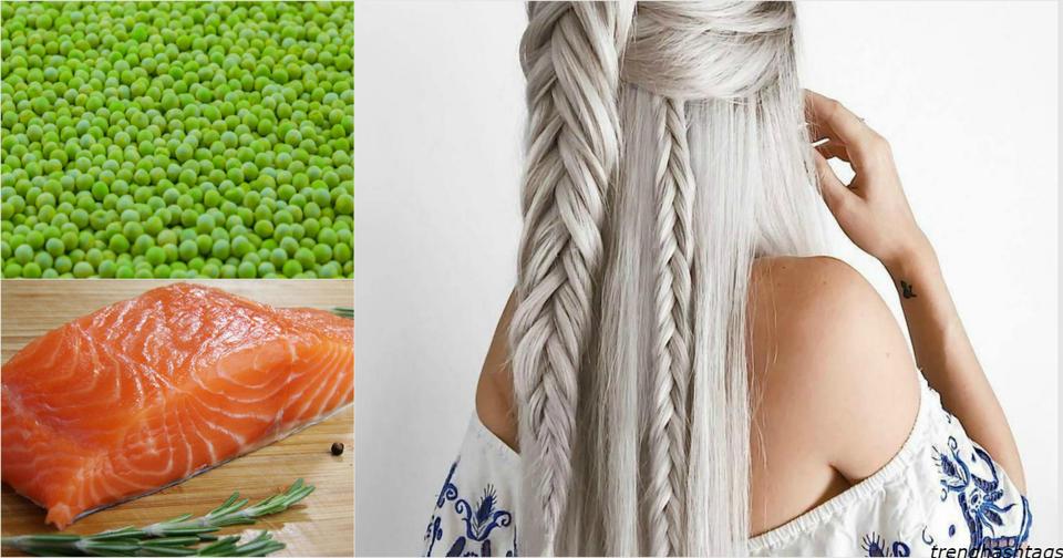 20 продуктов, которые помогут остановить выпадение волос