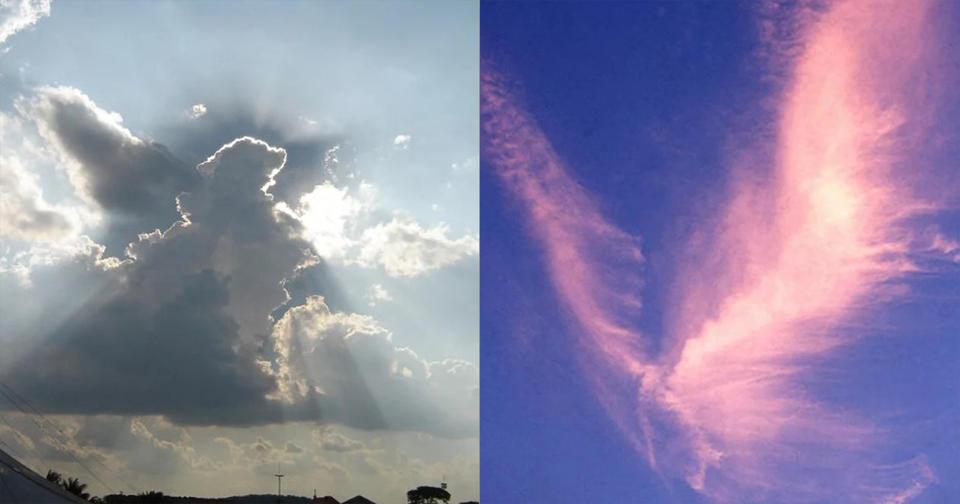 21 раз, когда кто то увидел в небе ангела   и не поверил своим глазам