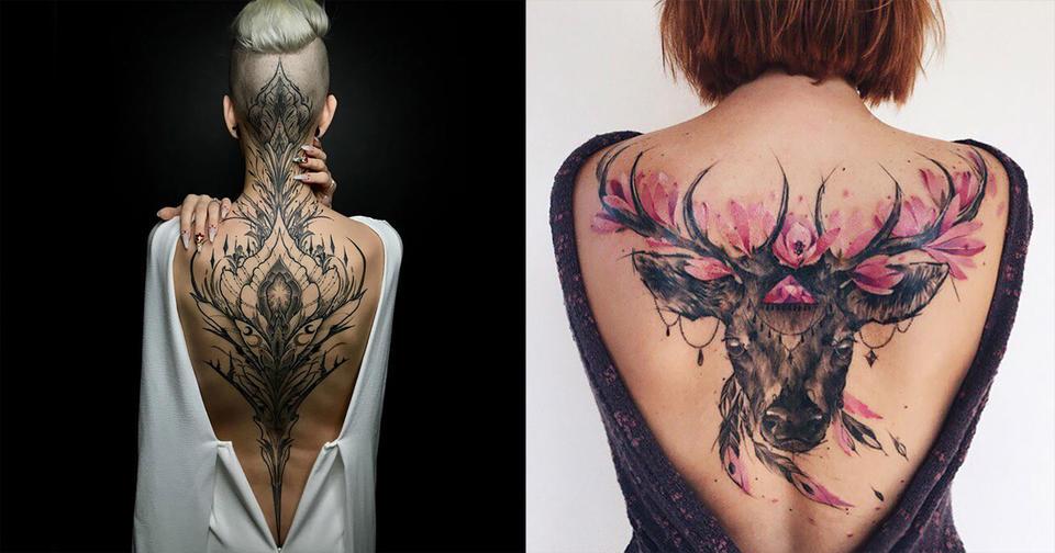 30 раз, когда кто то сделал татуировку на всю спину   и получилось действительно красиво