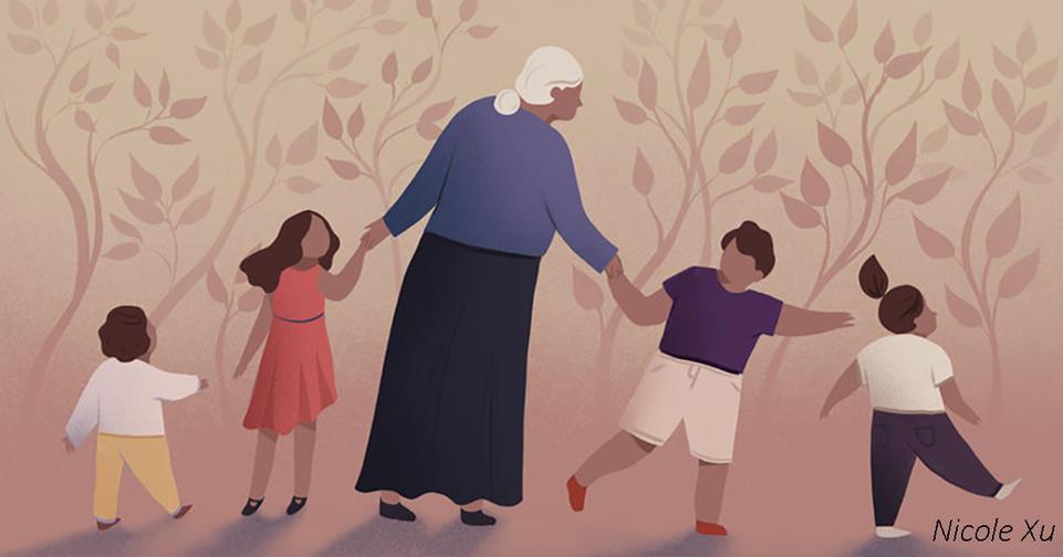 Новые доказательства того, что бабушки были решающими для эволюции человека