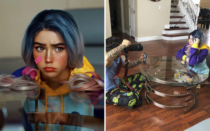 30 фото о том, какой труд стоит за каждой ″идеальной″ фотографией в Instagram