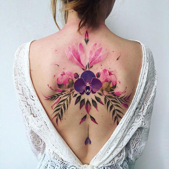 30 раз, когда кто-то сделал татуировку на всю спину - и получилось действительно красиво