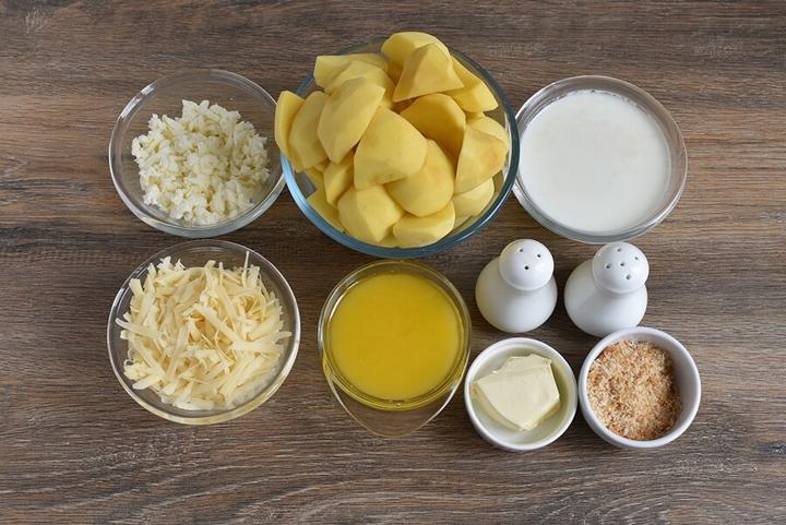 Рецепт приготовления вкусного картофельного пюре в панировке с пармезаном. Вкусно, полезно и питательно