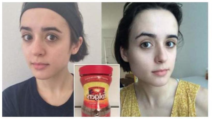 Девушка умывала лицо кофе в течение одной недели: результат оказался совсем не таким, как она рассчитывала