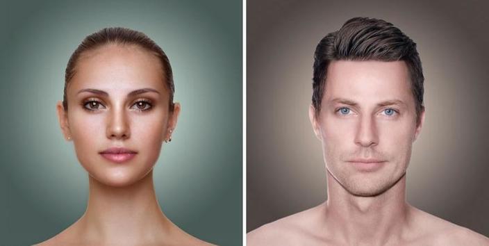 Дизайнеров попросили показать, какой тип внешности в моде в их стране. Русский получился жуликом, а белорус - героем блокбастера (фото)