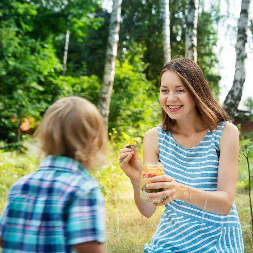 Хочешь кушать - держи яблоко и смузи: молодая семья уже больше шести лет не ест продукты животного происхождения