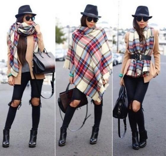 Непременный спутник стильной леди. Знакомьтесь: шарф одеяло
