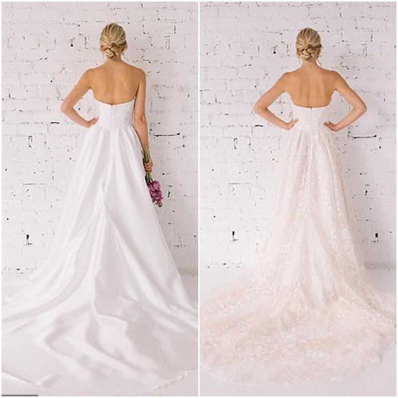 Для тех, кто не может выбрать: дизайнер разработала двусторонние свадебные платья