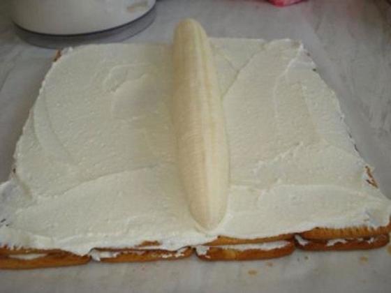 Каким способом можно оформить любой торт из печенья. Оригинальный треугольный рулет без выпечки